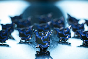 Team Mystic Pin - Warrior Pins