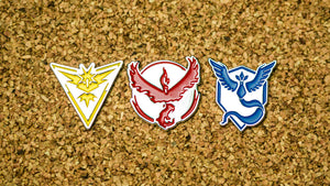 Team Valor Pin - Warrior Pins