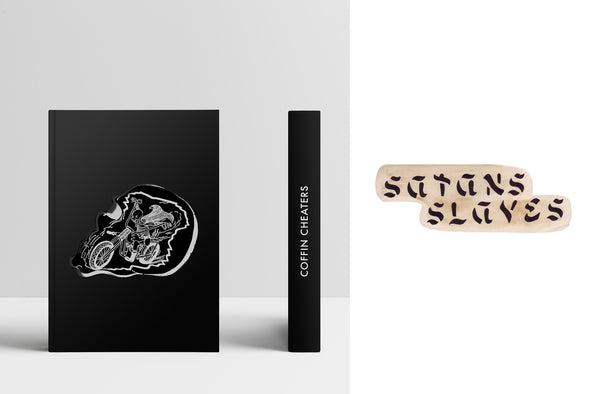 Coffin Cheaters Book + Satans Slaves Booklet
