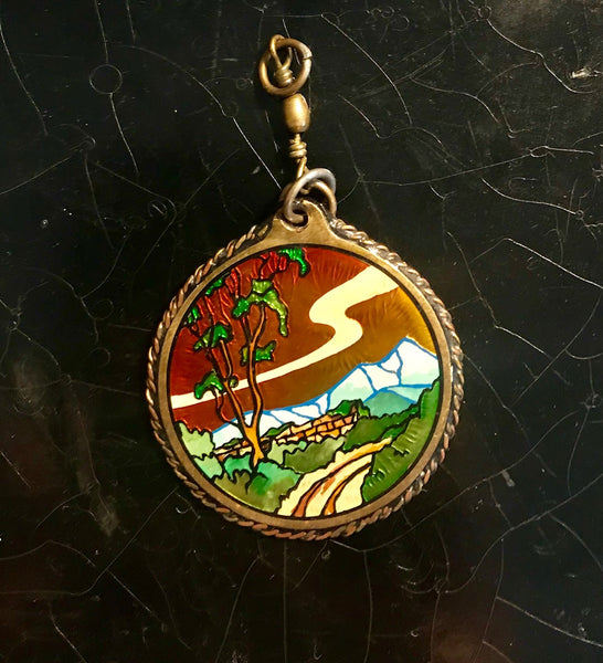 Andy Pendant River & Bird (Small)