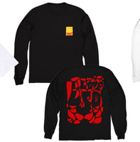 "Long Sleeve Gut ""I Love LSD"" Shirt (BLACK)"