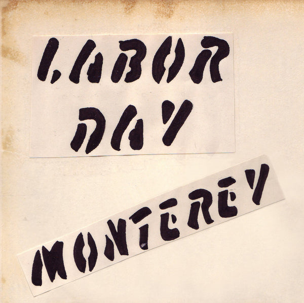 Labor Day Monterey 1964 Zine