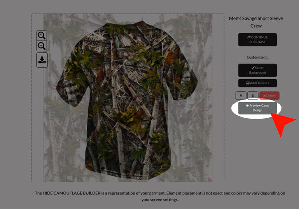 STEP 5 - HIDE CAMO BUILDER