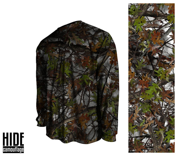 Signature Series - Custom Designed Camouflage - Long Sleeve Crew Collar T-Shirt