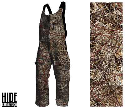 Signature Series - Custom Designed Camouflage - Water Resistant 360 Bib