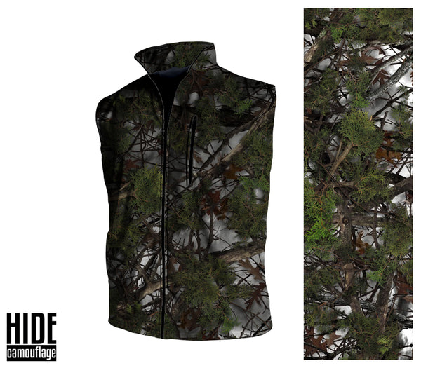 Signature Series - Custom Designed Camouflage - Water Resistant 360 Vest