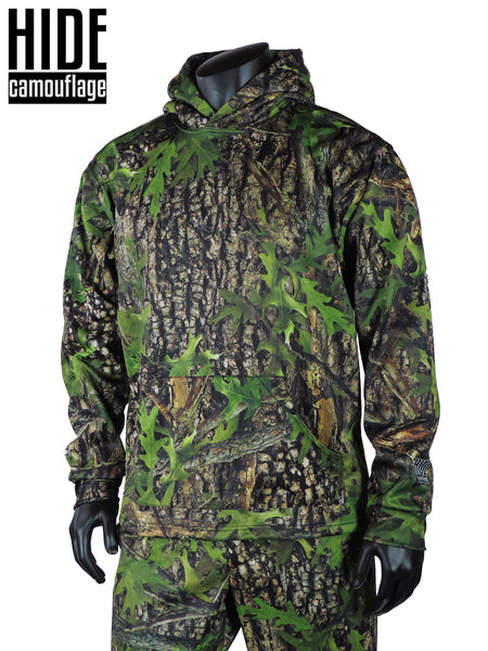 hide camouflage camo hoodie hooded sweatshirt custom design deer turkey hunt hunting outerwear