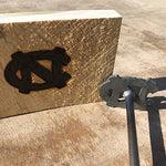 North Carolina Tar Heels - College Branding Iron - BBQ, Crafts, Woodworking Projects - The Heritage Forge