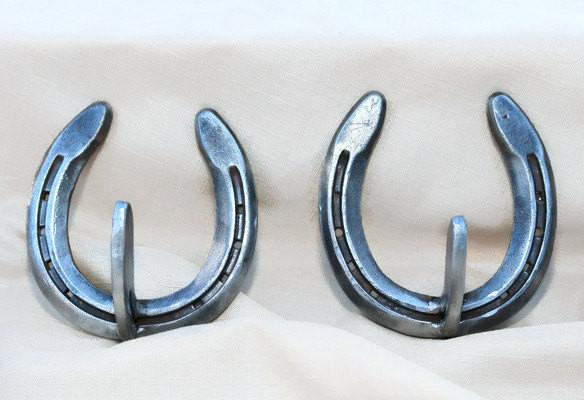 Horseshoe hooks and hangers - The Heritage Forge