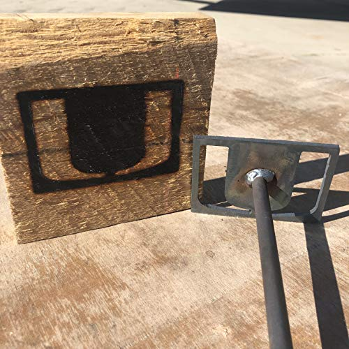 Miami Hurricanes - College Branding Iron - BBQ, Crafts, Woodworking Projects - The Heritage Forge