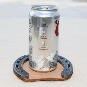 Rustic Horseshoe Drink Coaster - The Heritage Forge