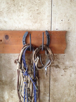 Rustic Horseshoe Hooks and Hangers - The Heritage Forge