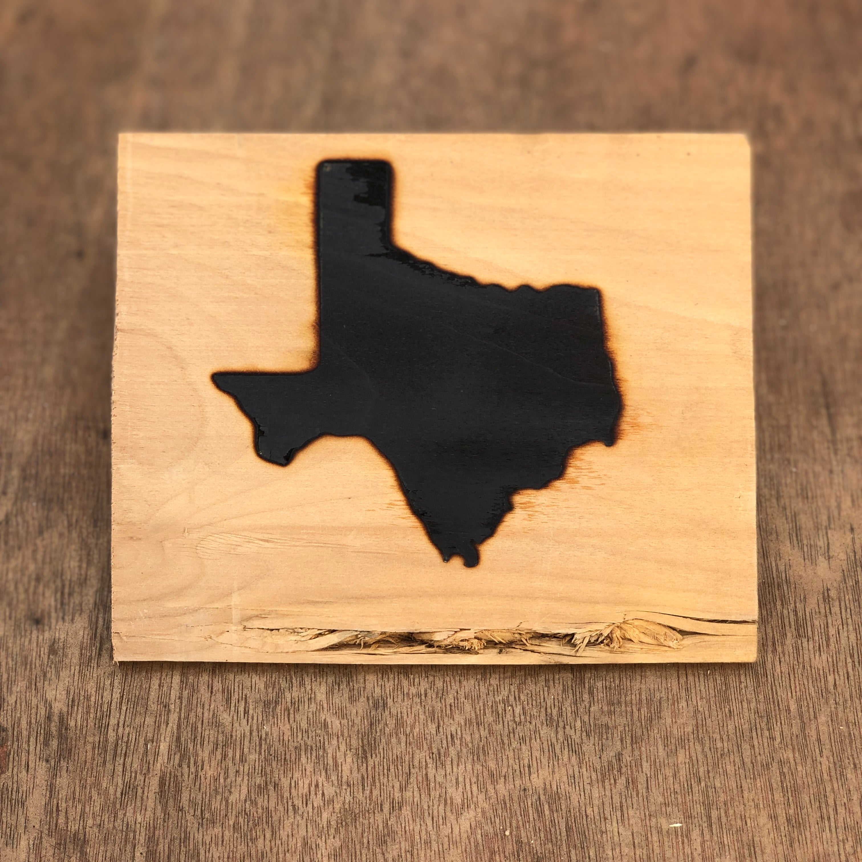 "Texas Silhouette Brand - 3.5"" - BBQ, Crafts, Woodworking Projects - The Heritage Forge"
