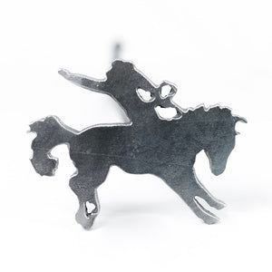 "Bucking Bronco Brand - 3.5"" - BBQ, Crafts, Woodworking Projects - The Heritage Forge"