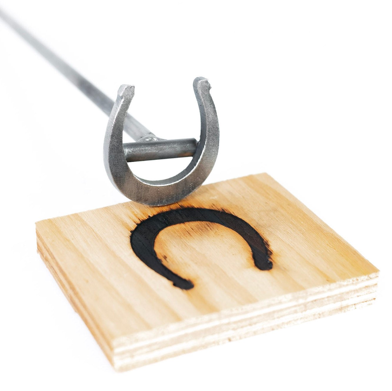 "Horseshoe Brand - 2.5"" - BBQ, Crafts, Woodworking Projects - The Heritage Forge"