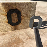 Ohio State Buckeyes - College Branding Iron - BBQ, Crafts, Woodworking Projects - The Heritage Forge