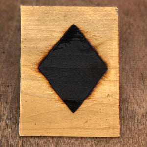 "Diamond Silhouette Brand - 5.5"" - BBQ, Crafts, Woodworking Projects - The Heritage Forge"
