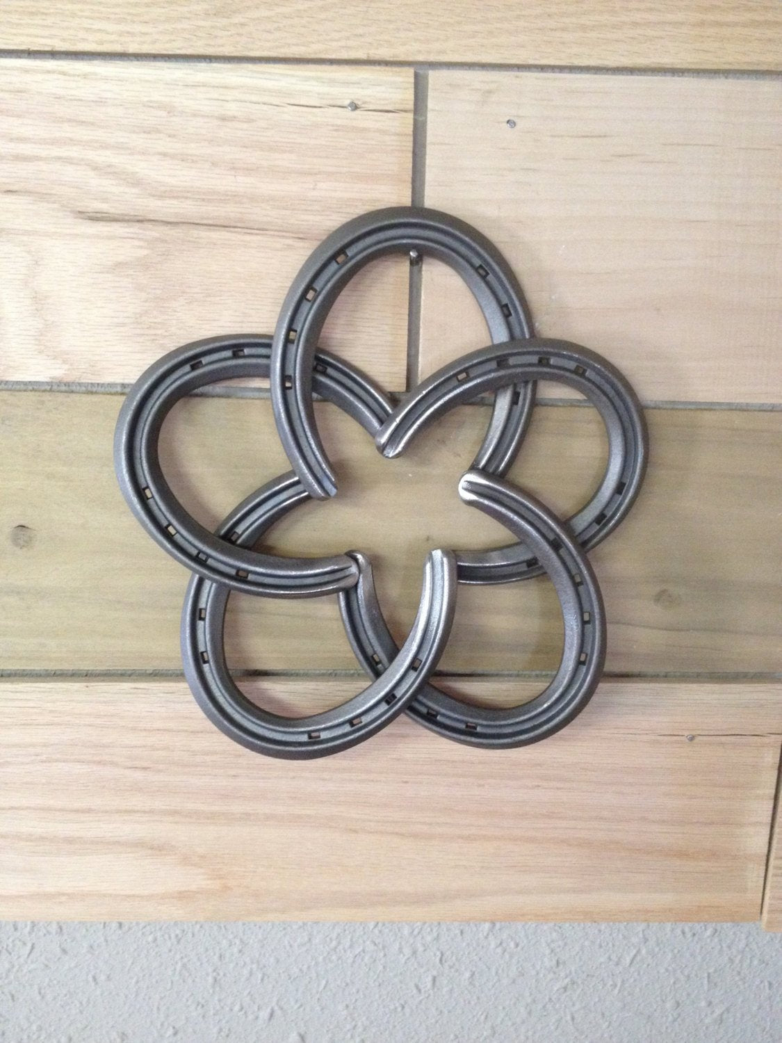 Rustic Horseshoe Star - The Heritage Forge