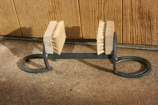 Horseshoe Boot Scraper - The Heritage Forge