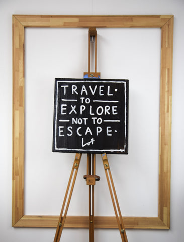 Travel To Explore Not To Escape - Lot Madeleine