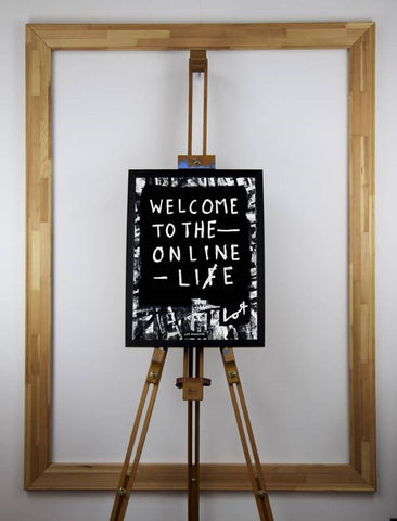 Welcome To The Online Life (Poster) - Lot Madeleine