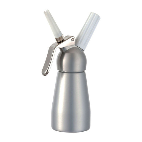 Mosa 1/2 Pint 100% Aluminum Whipped Cream Dispenser