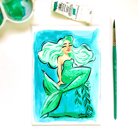 Mermay No. 1 Original Painting