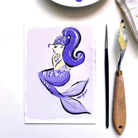 Mermay No. 2 Original Painting