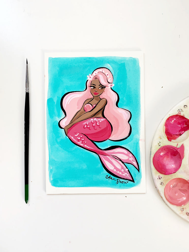 Mermay No. 6 Original Painting