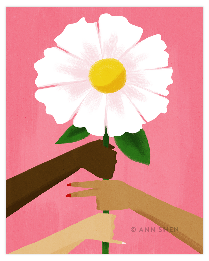 Rise Together Art Print 8x10""