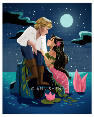 """The Siren's Call"" Art Print 8x10"""