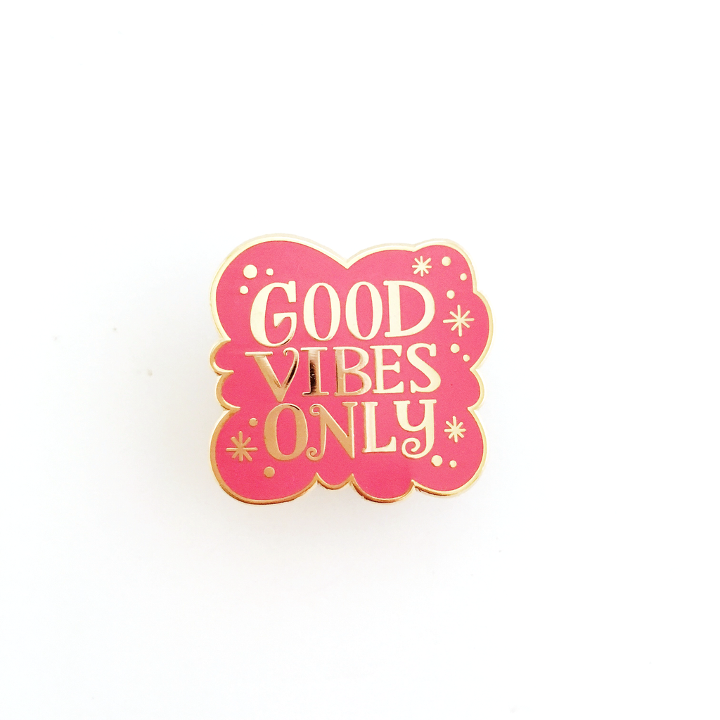 ENAMEL PIN – Good Vibes Only