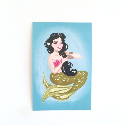 "Florence of the Sea – 4x6"" Postcard"