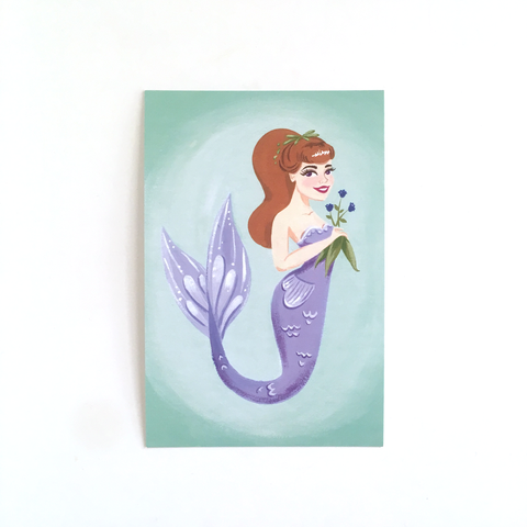 "Lily of the Sea – 4x6"" Postcard"