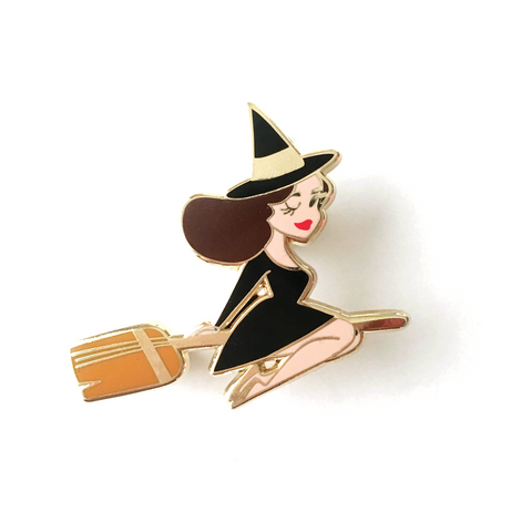 ENAMEL PIN – Best Witch