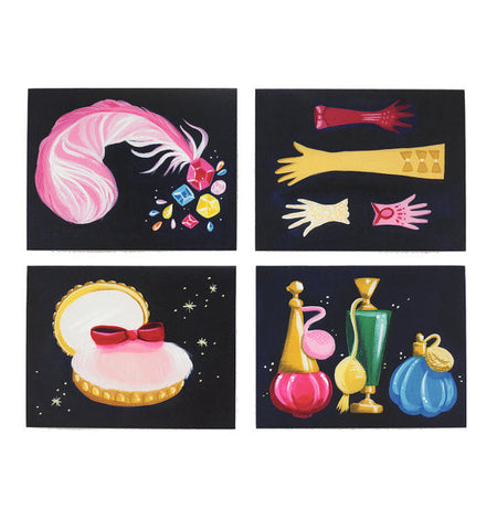 Dressing Room Assorted Cards – Set of 8