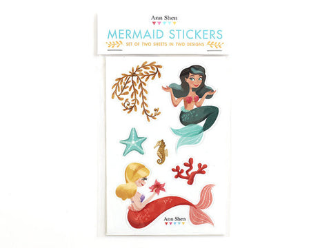 Mermaid Sticker Set