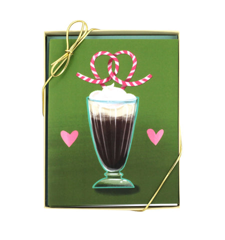 Soda Fountain Love Card – Set of 8