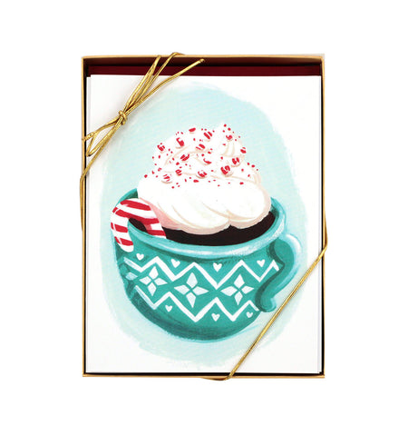 Cocoa Holiday Card – Set of 8