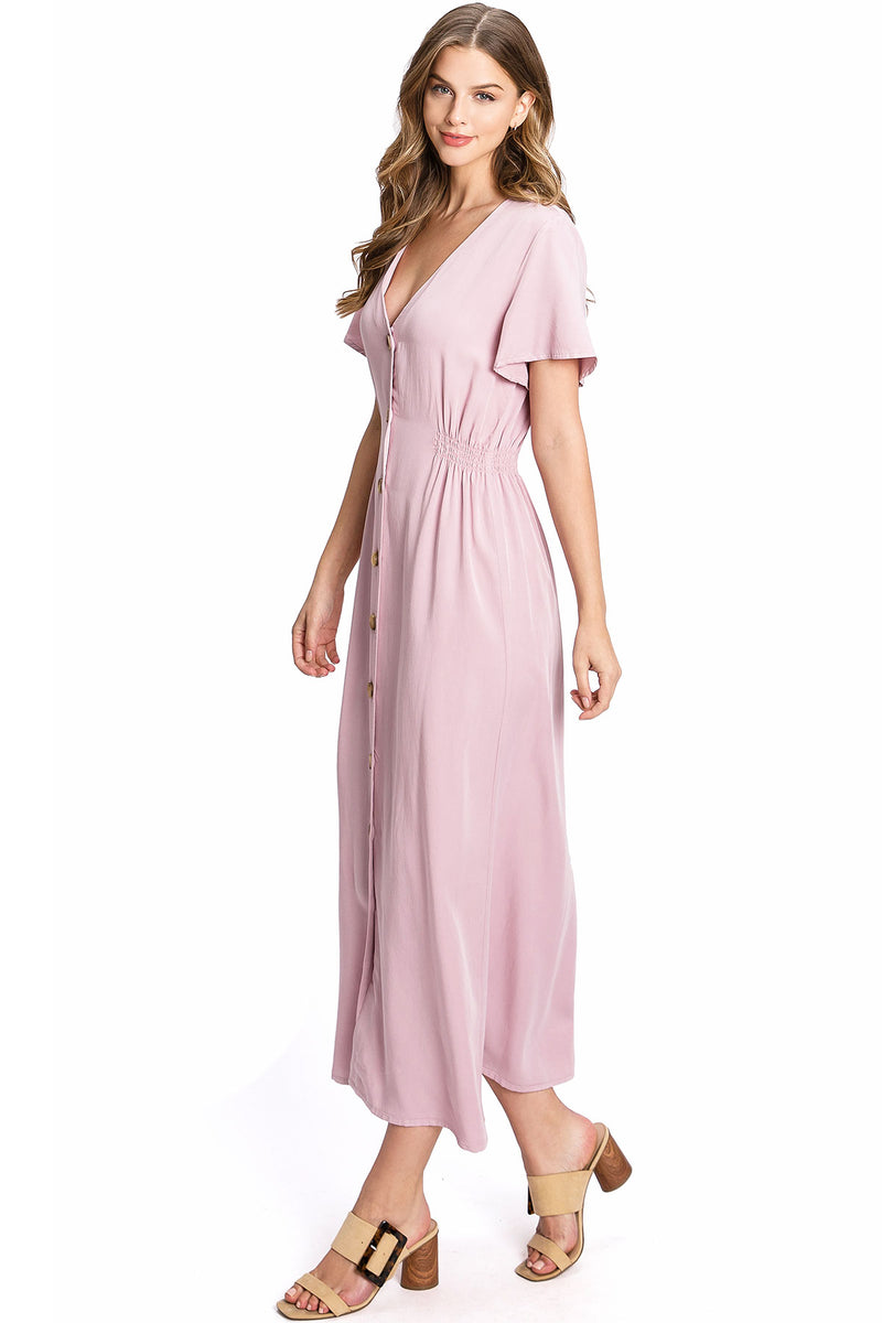 High Tea Midi Dress
