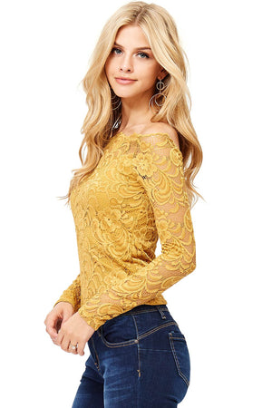 Lora Lace Top