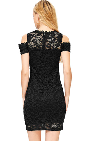 Graceful Lace Dress
