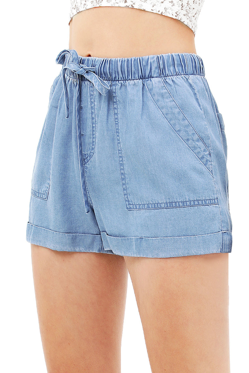 Freebird Chambray Shorts