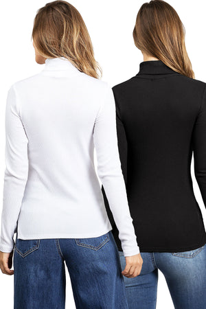 Tala Turtleneck Top (2PK)