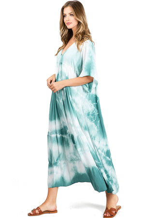 Laguna Tie Dye Midi Dress
