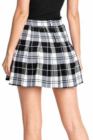 Charli Plaid Mini