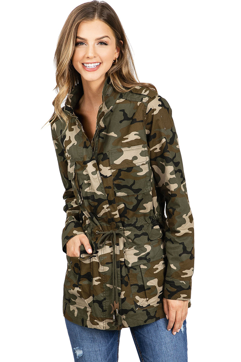 Hunter Camouflage Parka