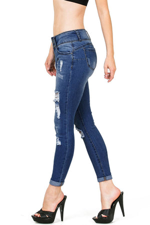 Mischief Ankle Skinny Jeans