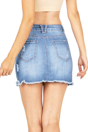 Lauren Denim Mini