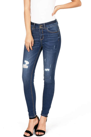 Daily Distress Skinny Jeans